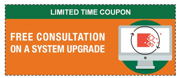 system upgrade coupon